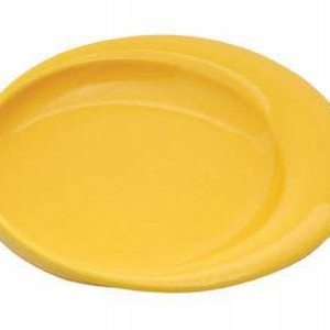 Plate 23cm Green Yellow or White