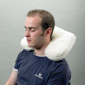Neck Cushion Wool Pile Optional Cover