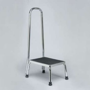 Step Stool Chrome With Handle