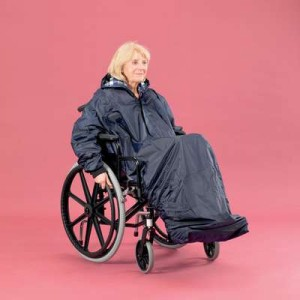 Wheelchair Clothing Mac With Sleeves Lined