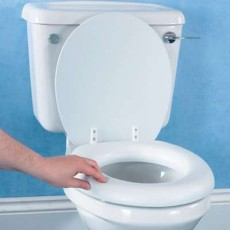 Raised Toilet Seat Homecraft Soft With Lid