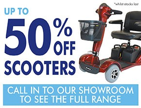 Up to 50% off scooters