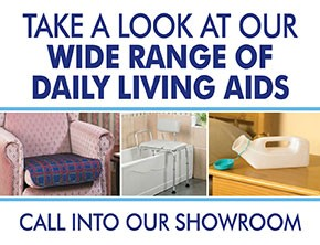 Take a look at our wide range of living aids